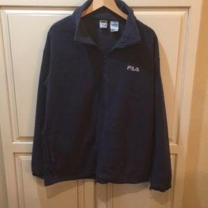 Fila fleece sweatshirt thermal jacket xl